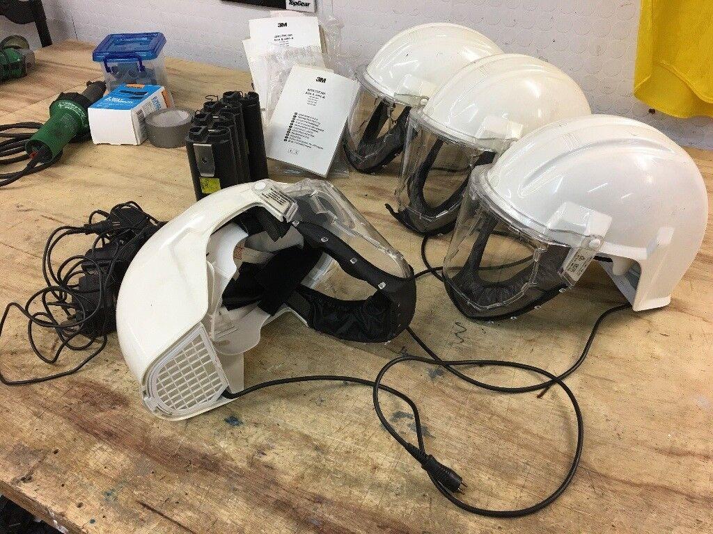 4 Airstream Helmets