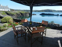 3 bedroomed holiday cottage on the Island of Easdale (newly available)