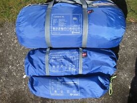 FAMILY TENT (5/6 PERSON) - OUTWELL OAKLAND XL LIGHTLY USED IN ALMOST NEW CONDITION