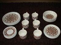 29 Piece Ironstone Tableware Set
