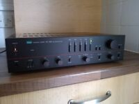 LOOK Sansui Amplifier in perfect working order. Near Mint amp with phono ect