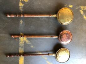 Genuine antique bed pans