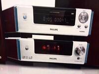 Phillips Vacum tube/Valve Premium micro theatre system.MCD908