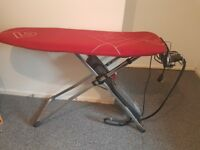 Iron and ironing board