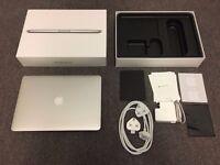 "MacBook Pro Retina 13"" 2015 Model + all accesories, liquid damage, For Parts, still under warranty."