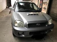Hyundai Santa Fe 4x4 2L spares/repairs
