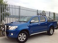 2011 TOYOTA HILUX D/C 3.0 D4-D INVINCIBLE AUTO 4X4 BLUE + FULL LEATHER INTERIOR!! ++ MANY EXTRAS! ++