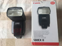 Canon 580EX ii speedlite (Flashgun) for sale