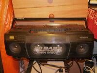 Hitachi 1991 boombox
