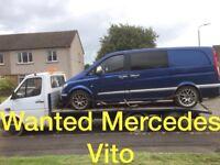 Mercedes Benz Vito van wanted