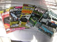 PERFORMANCE FORD AND FAST FORD MAGAZINES.