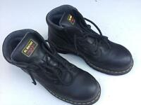 Dr Martin Steel toecap boots. Hardly worn