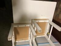 Kids room table with two chairs £45