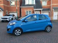 2012 KIA PICANTO 1 LITRE, TAX £0, MOT NOV 2018, FULL SERVICE HISTORY, LOW MILEAGE