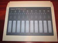 Roland CF-10 Digital Fader (Rare) 1989