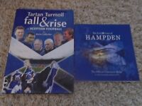 2 Football Books - 100 years of Hampden and Fall & Rise of Scottish Football