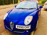 Alfa Romeo Mito Lusso 1.4 (Manual-Petrol) One careful female owner!