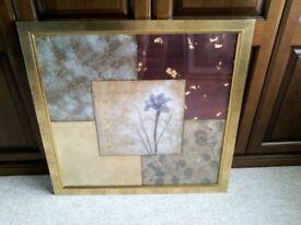 Square picture. 31 x 31 inches.