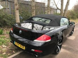 BMW 645 CI 4.4 333BHP ** CONVERTIBLE ** FULL SERVICE HISTORY ** 2 KEYS ** 12 MONTH MOT ** HPI CLEAR