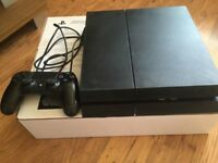 sony playstation 4 console ps4 with games fifa or call of duty old filmware 3.55 custom