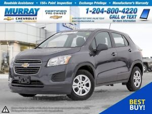 2016 Chevrolet Trax LS *Accident Free, Bluetooth, OnStar*