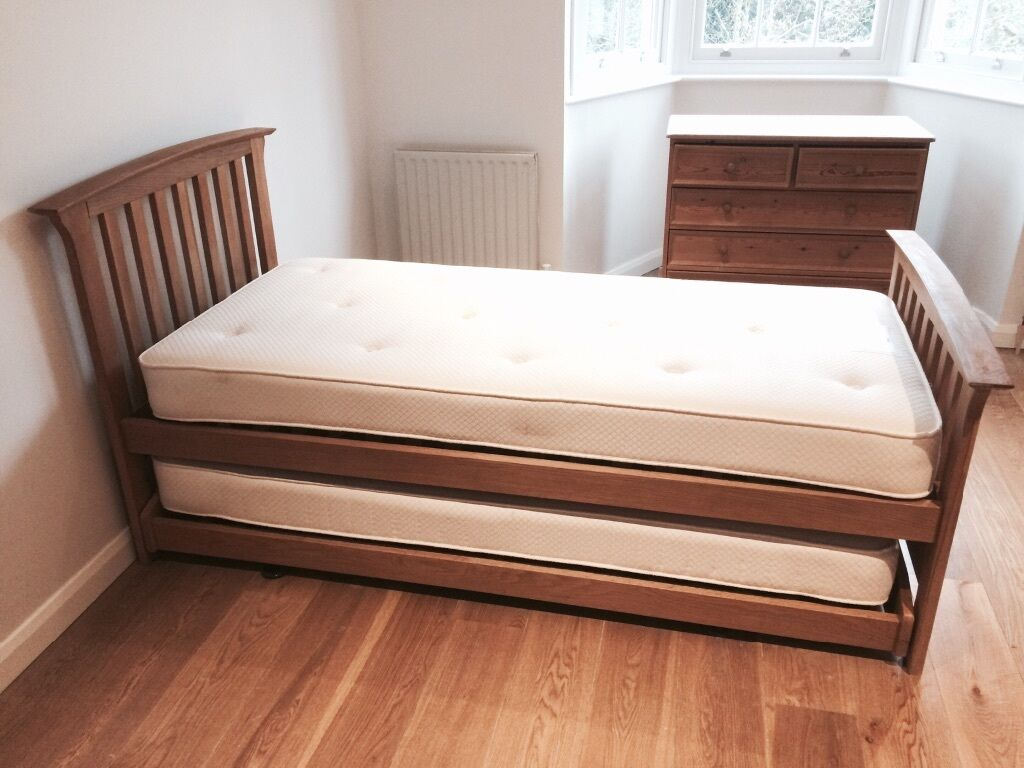 Ms Bedroom Furniture Ms Oak Trundle Bed In Thames Ditton Surrey Gumtree