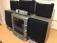 Grundig M10P HiFi Home Cinema System, Crisp Clear Cinema Sound, Fully Working Good Condition.