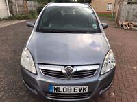 2008 Vauxhall Zafira 1.6 i 16v Exclusiv 5dr Manual @07445775115