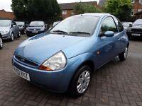 Ford KA 1.3 3dr 2003 (03 reg), Hatchback BLUE, ONLY 67,000 MILES, FULL VOSA HISTORY, BARGAIN
