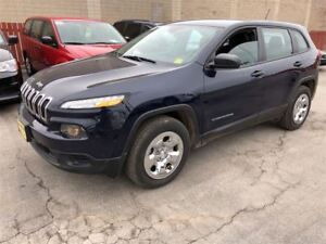 2016 Jeep Cherokee Sport, Automatic, Power Group, 4x4