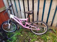 Kids bike for sale. Pink for girls