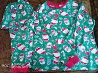 Boys Christmas pyjamas, size 9/10 years