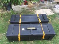 Large storage hardcase 40, storage boxes on wheels