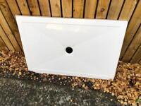 Simpsons - Rectangular Low Profile Stone Resin Shower Tray - 800 x 1200