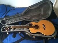 Epiphone PR5E Electro acoustic guitar with hard case