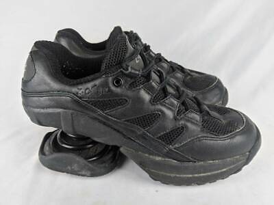 Z-CoiL Womens Freedom Classic Walking Shoes Black Lace Up USA 1-800-268-6239 7