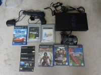 Sony PlayStation 2 with games compleat and working