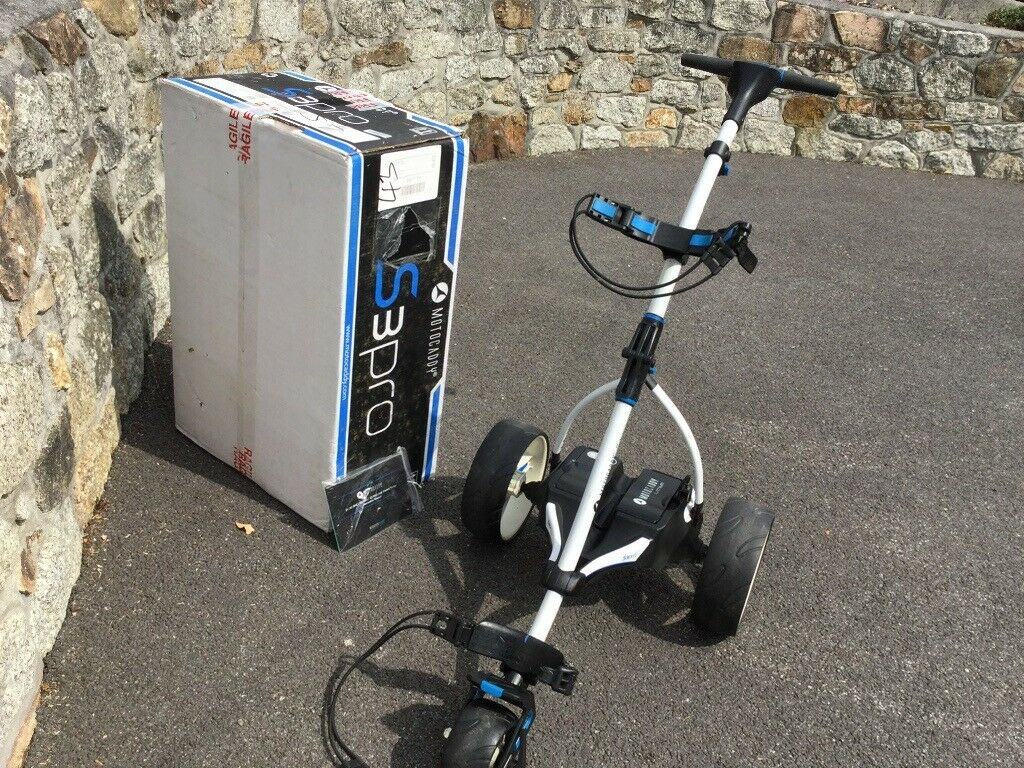 Motocaddy S3Pro Electric Trolley with Lithium Battery (2017) | in Truro,  Cornwall | Gumtree