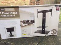 TV floor stand with mount