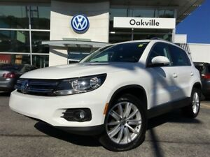 2013 Volkswagen Tiguan Highline AWD Bluetooth Leather Sunroof