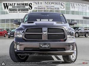 2015 Ram 1500 Sport - LEATHER, HEATED/COOLED SEATS, PWR SUNROOF