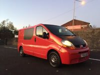2004 BLACK/RED RENAULT TRAFIC 1.9 DCI LOW 122k MILES GOOD RUNNER 4/2018 MOT VIVARO AND PRIMASTAR