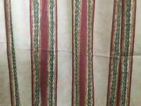 Ashton and Dean cotton curtains
