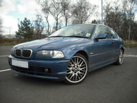 Low Mileage BMW 320 CI SE Coupe MOT April 2017 with Full Service History