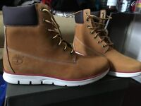 mens brand new timberlands wheat unworn size 9 for sale