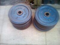 weights set 10 x 5 kg