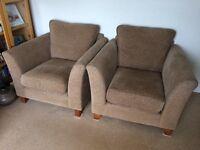 3 seater sofa & 2 single chairs
