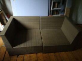 Westminster garden rattan sofa - bargain