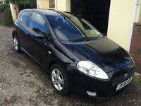 FIat Grande Punto 1.4 Active Sport, Mot'd to 31.07.17, good condition, new exhaust, great first car