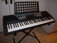 Yamaha PSR 170 Piano Keyboard with Stand and Mains Adaptor